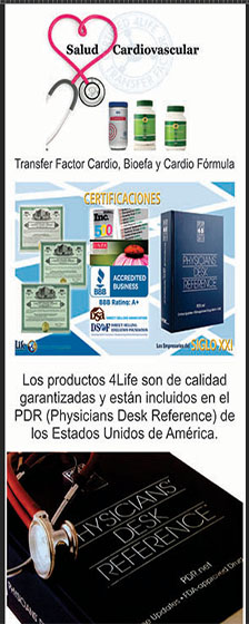 4life registrado en physicians desk reference